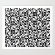Inverse or Circles and Circles Art Print