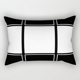 Tic Tac Toe Rectangular Pillow