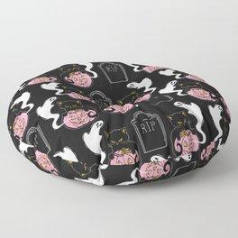 Grave Kitten Floor Pillow