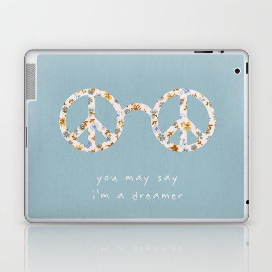 You may say i'm a dreamer Laptop & iPad Skin