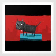 Mystical Cat Art Print