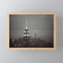 The City That Never Sleeps #2 Framed Mini Art Print