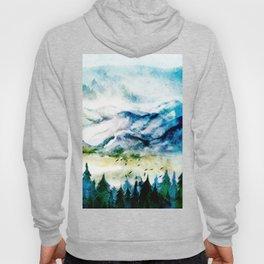 Mountain Landscape Hoody