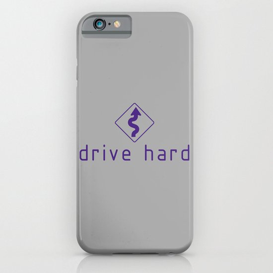 Drive Hard v6 HQvector iPhone & iPod Case