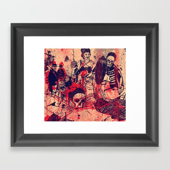 Boom Doom Ka Doom Framed Art Print