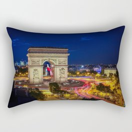 Arc de Triomphe in Paris Rectangular Pillow