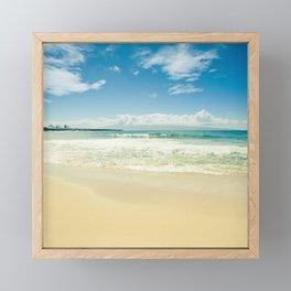 Kapalua Beach Honokahua Maui Hawaii Framed Mini Art Print