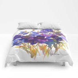 Petite Violets Comforters