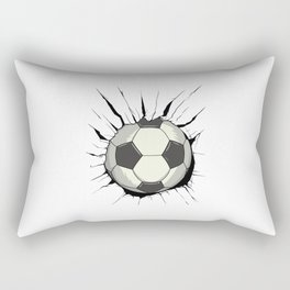 Breakthrough Football Rectangular Pillow