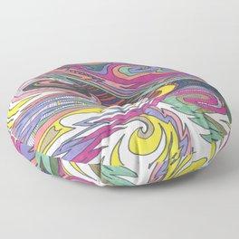 Doodle Bright Floor Pillow