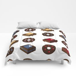 Mouth Watering Donuts and Cakelicious Comforters
