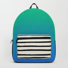 Mermaid & Stripes Backpack