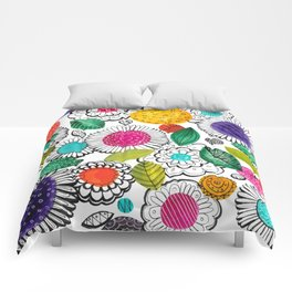 Floral Fun Comforters