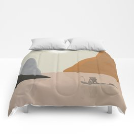 Chinese landscape Comforters