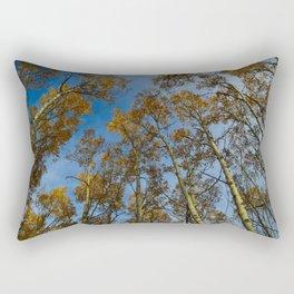 Trembling Aspen Trees in Jasper National Park Rectangular Pillow
