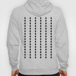Geometric Droplets Pattern Linked Hoody