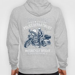 NYPD Motorcycle Officer Hoody