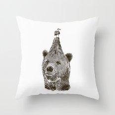 Bear Throw Pillow