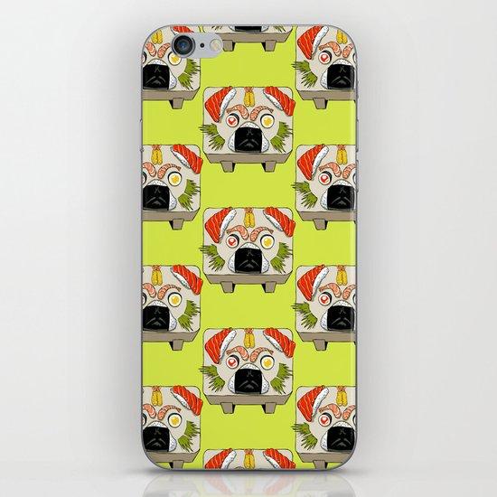 Pug Sushi iPhone & iPod Skin