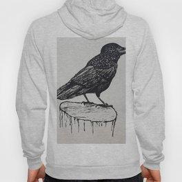 Observant Crow Hoody
