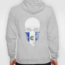 El Salvador Skull T-Shirt - El Salvador Hoody