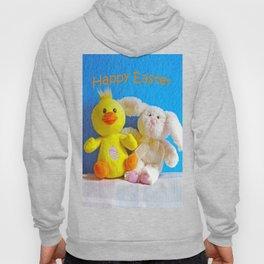 Happy Easter Chick + Bunny Hoody