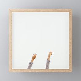 Weekend Feels Framed Mini Art Print