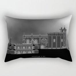 HexArchi - Portugal, Tomar, Convento de Cristo Rectangular Pillow