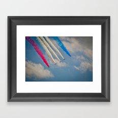 RAF Red Arrows #2 Framed Art Print