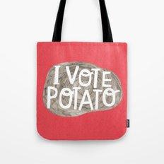 I VOTE POTATO Tote Bag