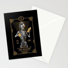 The Reader X Tarot Card Stationery Cards