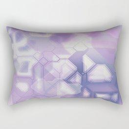 future fantasy snow cover Rectangular Pillow