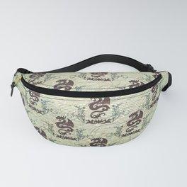 Dragon pattern Fanny Pack
