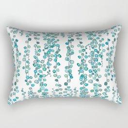 string of pearl watercolor Rectangular Pillow