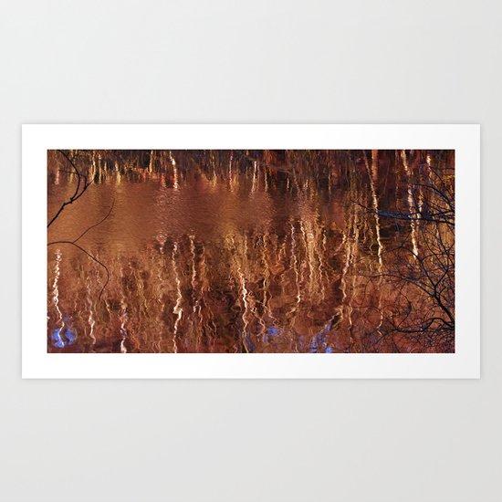 On Reflection Art Print