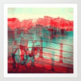 One Bicycle Art Print