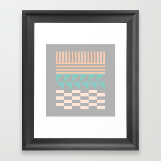 Opostos Framed Art Print