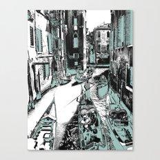 Canal Canvas Print