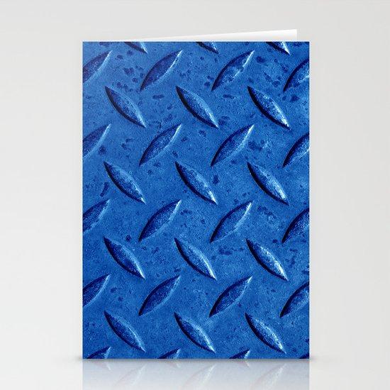 blue steel II Stationery Cards