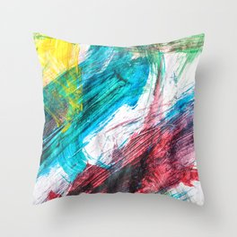 Summer's Colors Throw Pillow