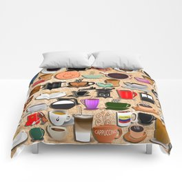 Coffee Mugs, Cups and Makers Comforters
