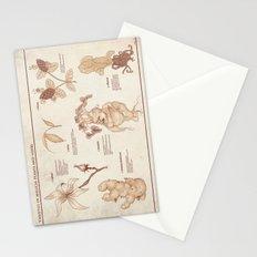 Herbology Reference Chart (Hogwarts) Stationery Cards