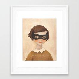 Kitten Bandit Gerahmter Kunstdruck