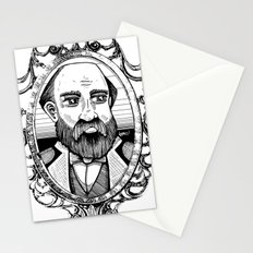 Collis P Huntington by Ronkytonk Stationery Cards