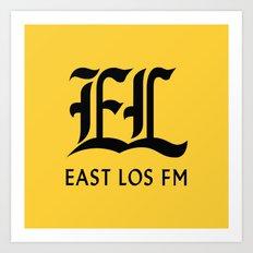 East Los FM Art Print