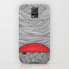 Red Half Galaxy S5 Slim Case