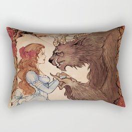 Beauty and the beast Rectangular Pillow