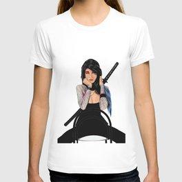 Samurai Warrior Girl - Lubna T-shirt