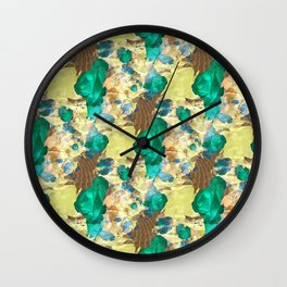 Sea Roses... Wall Clock