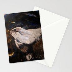 Howling Husky Stationery Cards